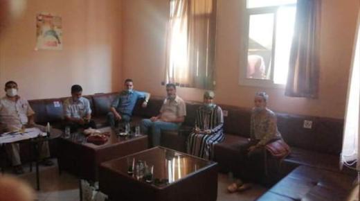 جمعية البحث في التاريخ و الذاكرة برئاسة ذ.منير كلخة و عدة باحثين بالناظور