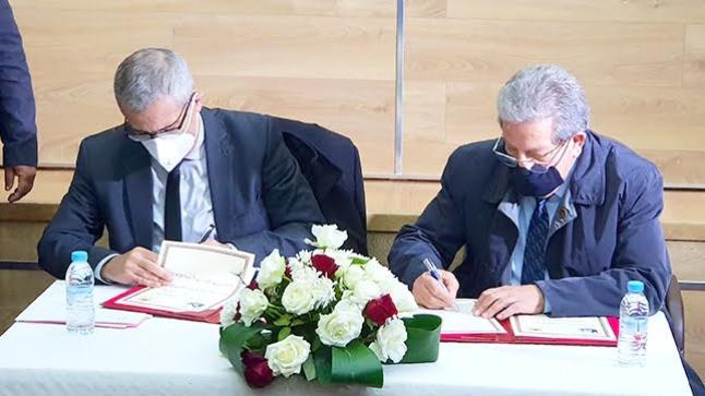 توقيع مذكرة تفاهم بين وزارة العدل وهيئة المحامين بالناظور