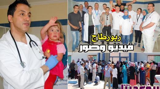 جمعية أمانة للإندماج تنظم حملة طبية متعددة التخصصات لفائدة المئات من المواطنين بإقليم الناظور