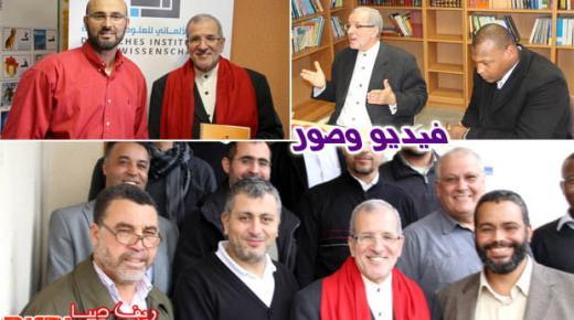 """الدكتور عبدالحميد يويو يؤطر محاضرة بعنوان """"أسس الفكر الغربي تاريخا ومنهجا"""" بالمانيا"""