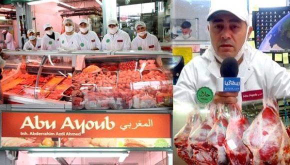 ناظوري يؤسس بفرانكفوت شركة لبيع جميع أنواع اللحوم الحلال (فيديو وصور)
