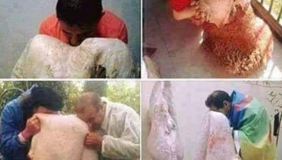 أصل عادة مسح الوجه بجلد أضحية العيد عند الأمازيغ