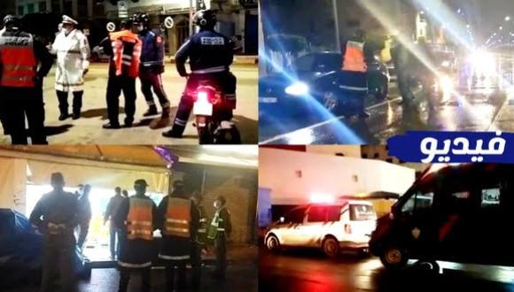 مراقبة مشددة بشوارع الناظور.. هكذا طبَّقت السلطات الأمنية حظر التنقل الليلي (فيديو)