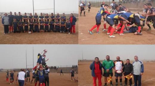 بالصور : ريكبي الناظور يقسو على جمعية جرادة بنتيجة ساحقة في مستهل البطولة الوطنية