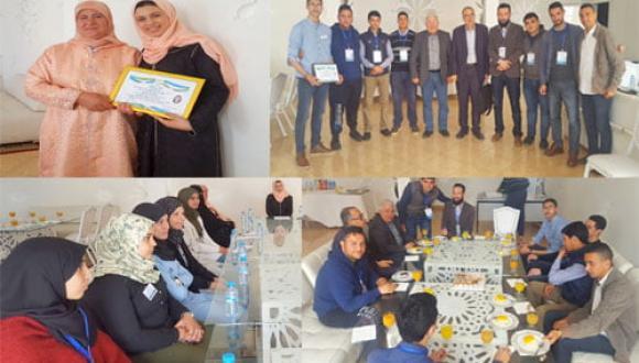 نادي الابداع والثقاقة بثانوية عثمان بن عفان يستضيف بطلة المغرب في العدو الريفي غزلان الوردي