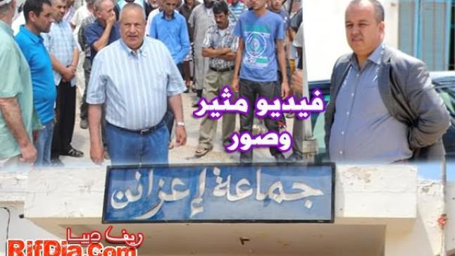 محمد أبرشان ينتفض ضد السلطة المحلية والدرك الملكي بسبب النقل القروي بإعزانن (فيديو مثير)