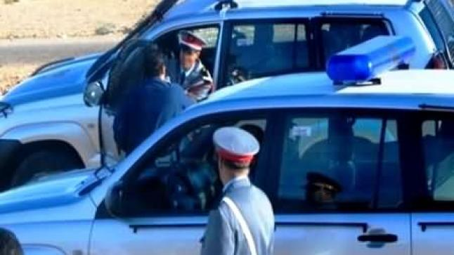 اعتقال دركي يعمل ضمن شبكة لتهريب السيارات من الناظور