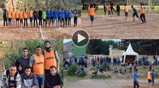 افتتاح النسخة 1 من دوري جمعية الإحياء لكرة القدم بماريواري جماعة بني شيكر