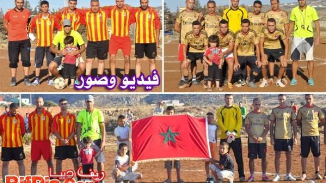انطلاق دوري رمضان في كرة القدم ببني شيكر بمشاركة 12 فريقاً (فيديو وصور)