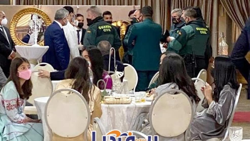 مليلية: الحرس يداهم حفل زفاف على الطريقة المغربية لمستشار وزيرة المالية (فيديو وصور)