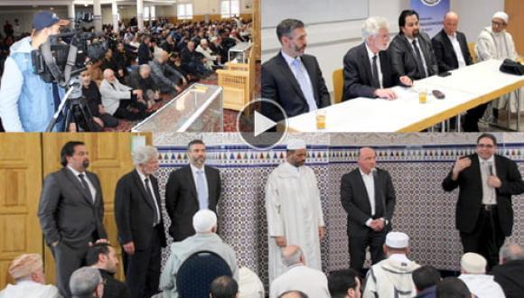 المانيا : مسجد الصداقة بمدينة غوانهايم يحتضن تظاهرة دولية لمكافحة العنصرية
