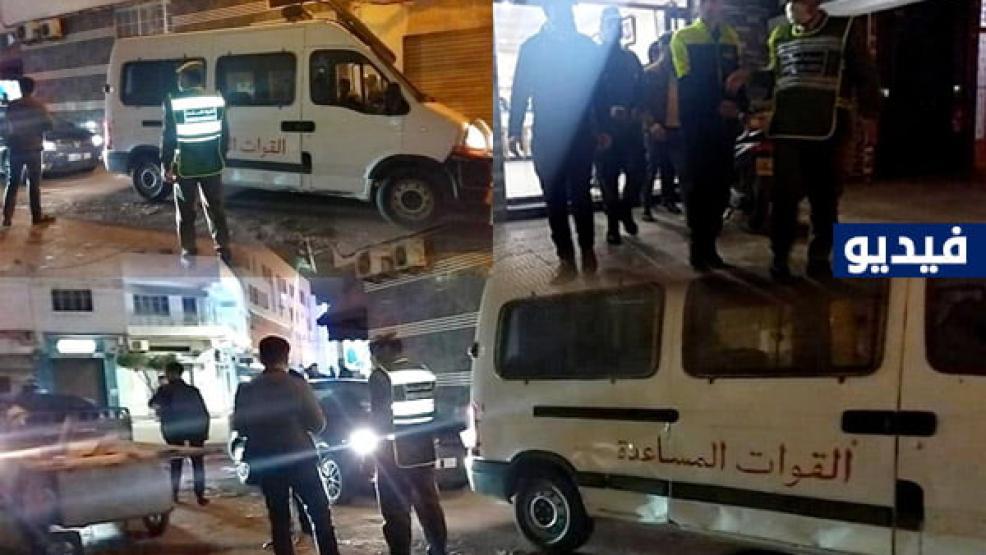 الناظور.. حملة ليلية لسلطات الملحقة الادارية الثالثة تواصل زجر المخالفين (+فيديو)
