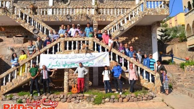 رابطة الكتاب الشباب بالريف في سياحة أدبية لمنطقة طرارة ببني شيكر