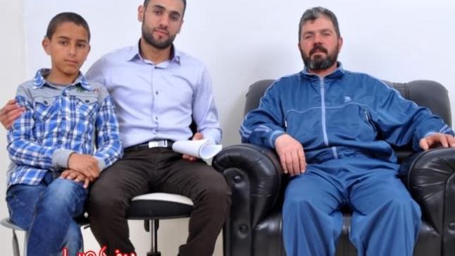 والد الطفل حسين مالكي يشكر جمعية الريف لمساعدة الأطفال بألمانيا لمساهمتها في إنقاذ ابنه من الصم والبكم