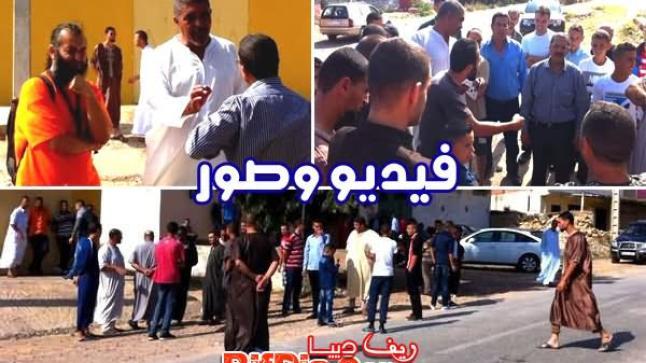 مقتل شاب ثلاثيني بطريق إعلاليين ببني شيكر.. والمواطنون يحتجون على السلطات في ثاني أيام العيد