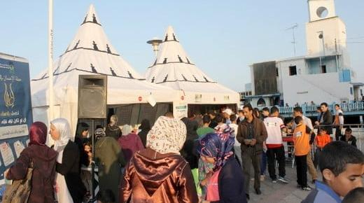 ٍإنطلاق فعاليات الخيمة الدعوية لحملة الإحسان المنظمة من طرف خركة التوحيد والاصلاح بكرنيش الناظور