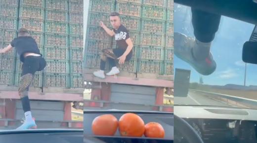 """النيابة العامة تقرر متابعة متسلق شاحنة """"الماندرين"""" في حالة سراح مؤقت بعد أداء كفالة مالية"""
