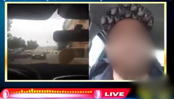 """فيديو """"لايف"""" يورط شخصا بالحسيمة ومديرية الأمن تكشف عن التفاصيل"""