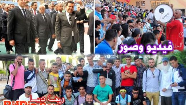 الناظور تساهم في إنجاح ملتقى محمد السادس لألعاب القوى بمراكش (فيديو وصور)