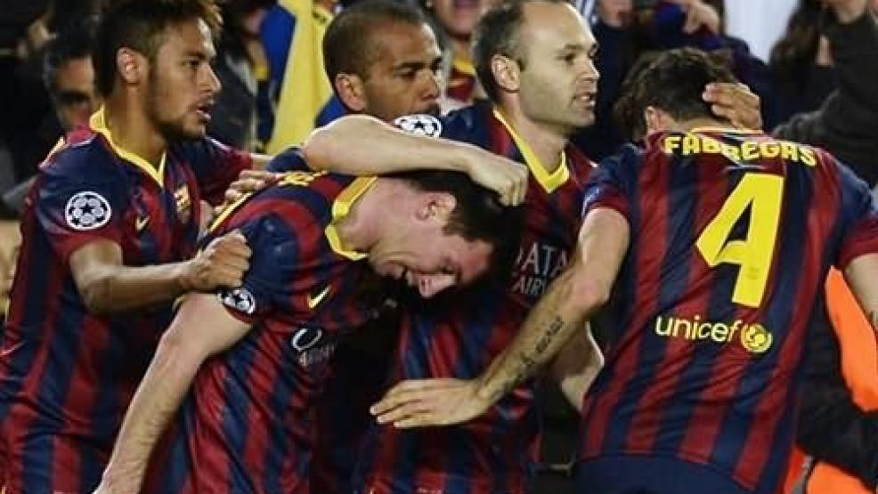 فيديو: ميسي يُعيد برشلونة لأيام العز ويتأهل على حساب مانشستر سيتي