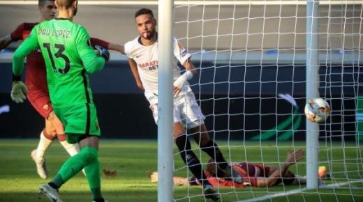 بهدف جميل.. يوسف النصيري يقود إشبيلية إلى ربع نهائي الدوري الأوروبي (فيديو)