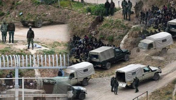 القوات المساعدة تحبط محاولة اقتحام سياج سبتة المحتلة