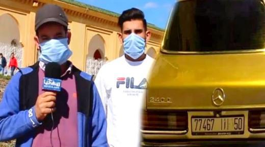 بالفيديو.. مواطن يحكي تفاصيل سرقة سيارته في واضحة النهار من أمام المسجد بفرخانة