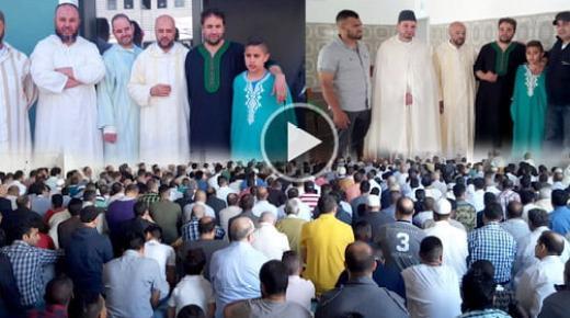 أجواء عيد الفطر بمسجد التوحيد بديتسنباخ الألمانية (فيديو وصور)