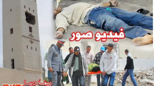 وفاة عامل إثر سقوطه من أعلى صومعة مسجد طرارة ببني شيكر