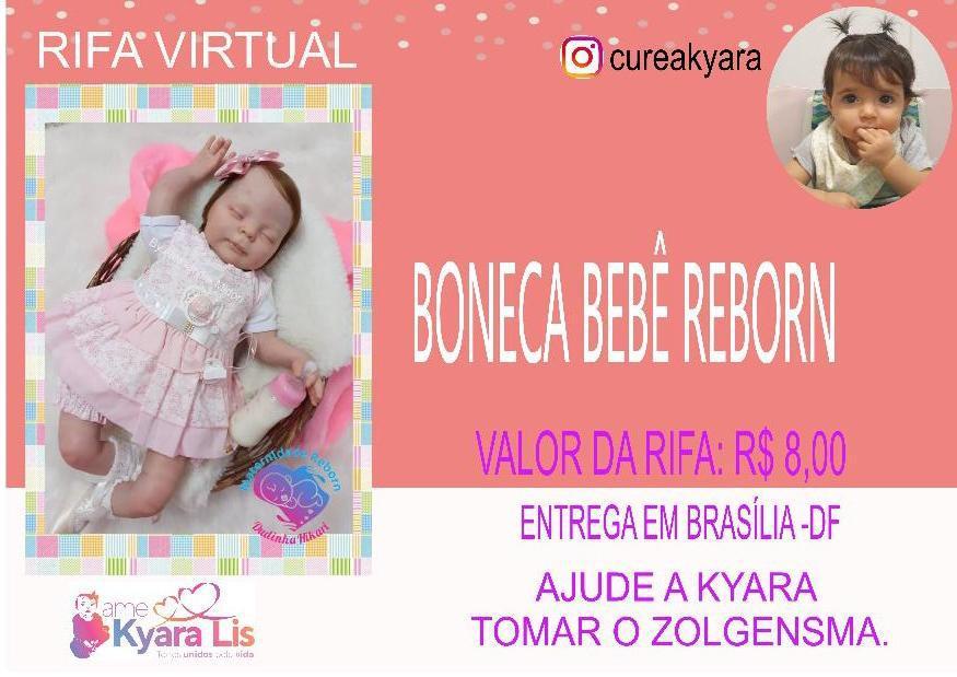 Foto  - @cureakyara - Bebê Reborn Molde Heather