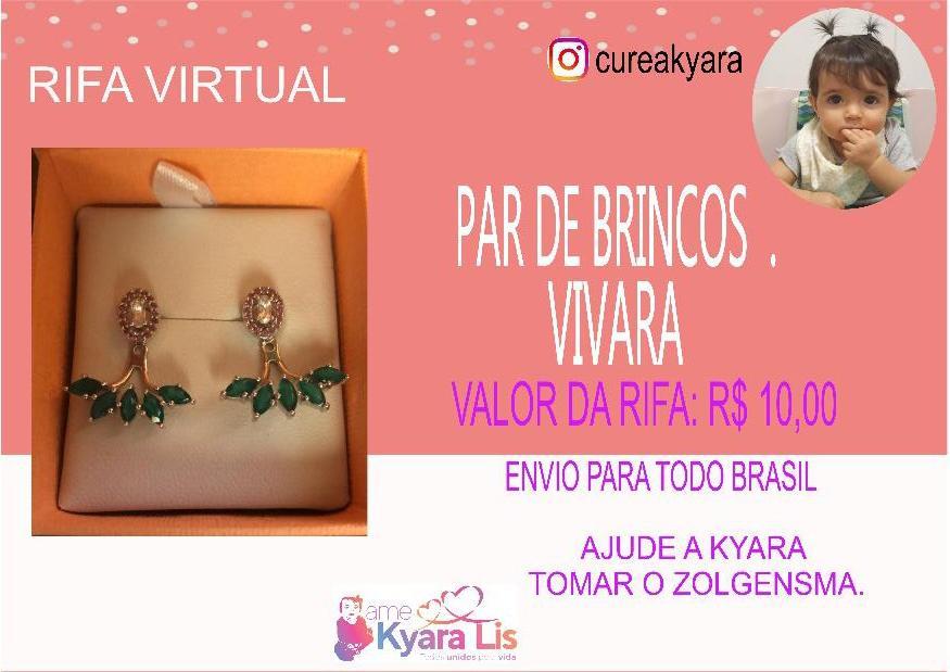 Foto  - @cureakyara - BRINCO VIVARA