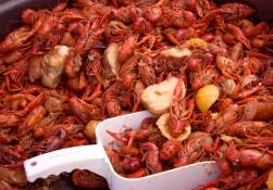 ots of delicious crawfish to eat! - Riff Ridgel Annual Crawfish cookoff