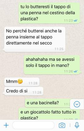 raccolta differenziata whatsapp 1