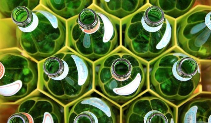 simboli riciclo vetro