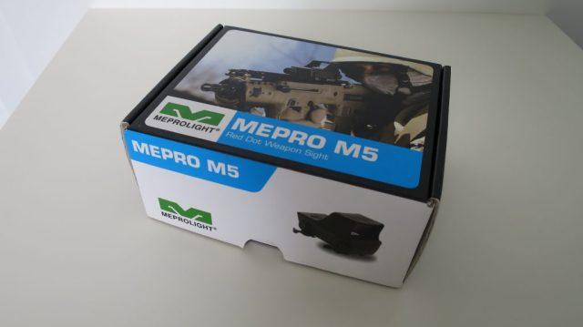 Mepro M5's box