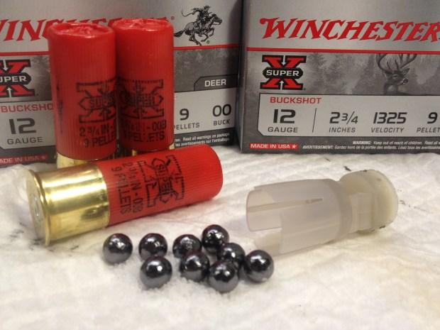 Winchester unplated buckshot
