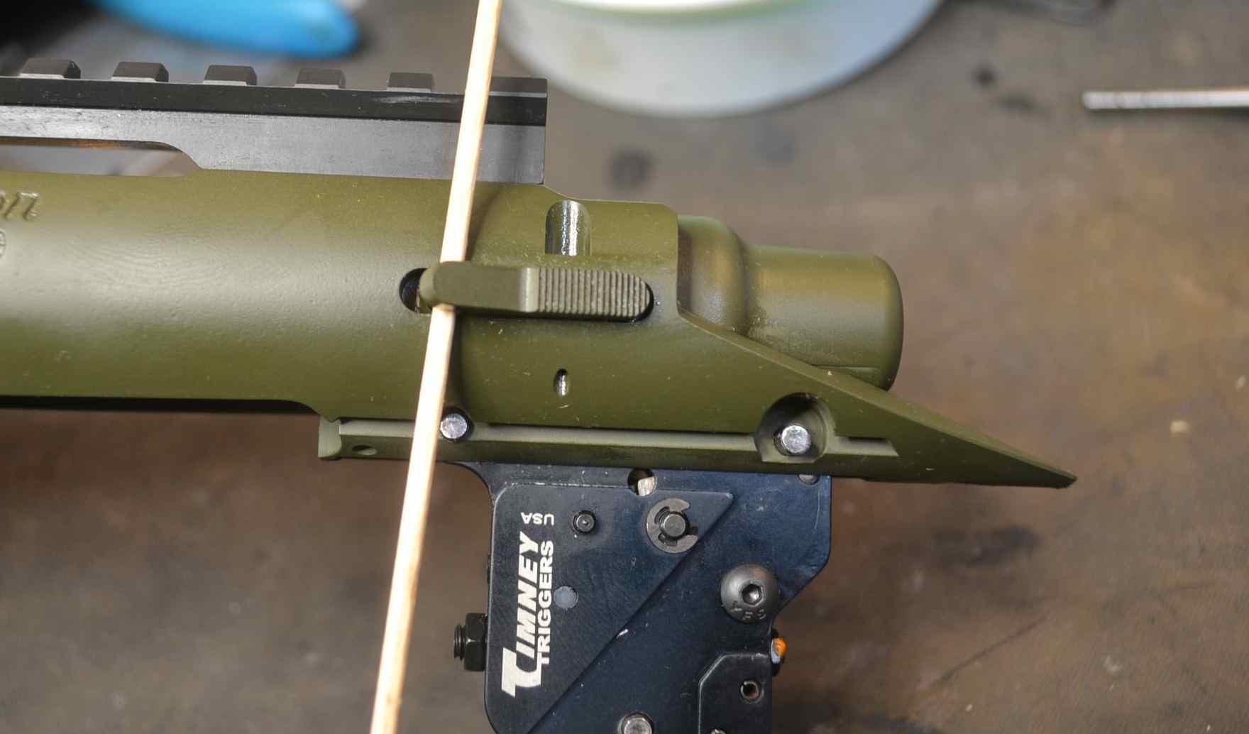 Installing an External Bolt Stop/Release on a Remington 700
