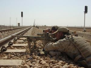 Sean Little and in Iraq.