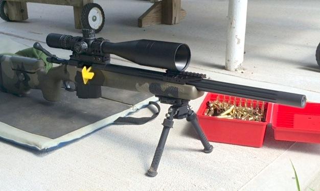Bipod rail installation (Atlas bipod adapter) – rifleshooter com