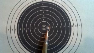 5-shot, 80 grain SMK group at 100 yards!