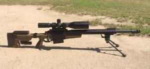 Custom 300 Winchester Magnum.