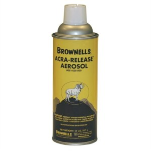 Of all the release agents I have tried over the years, I like the Acra-Release Aerosol the best.