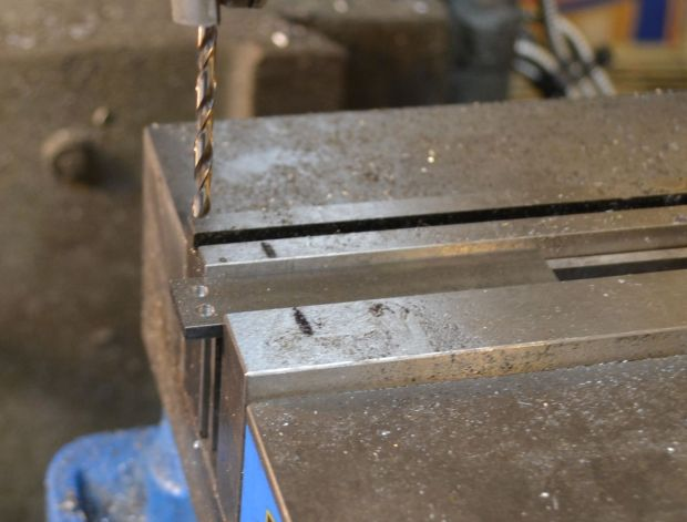 drilling handle holes