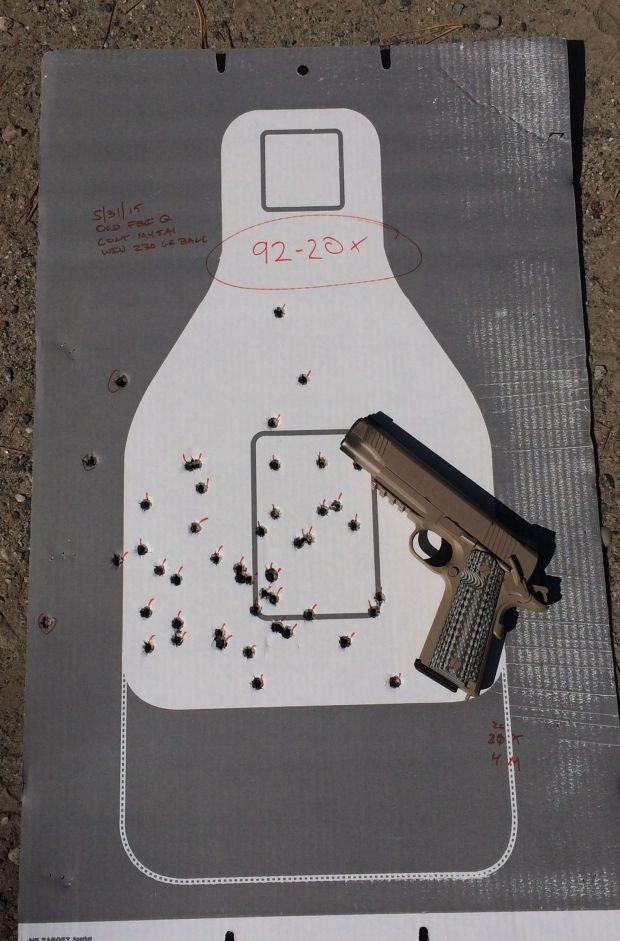 colt M45A1 FBI qual