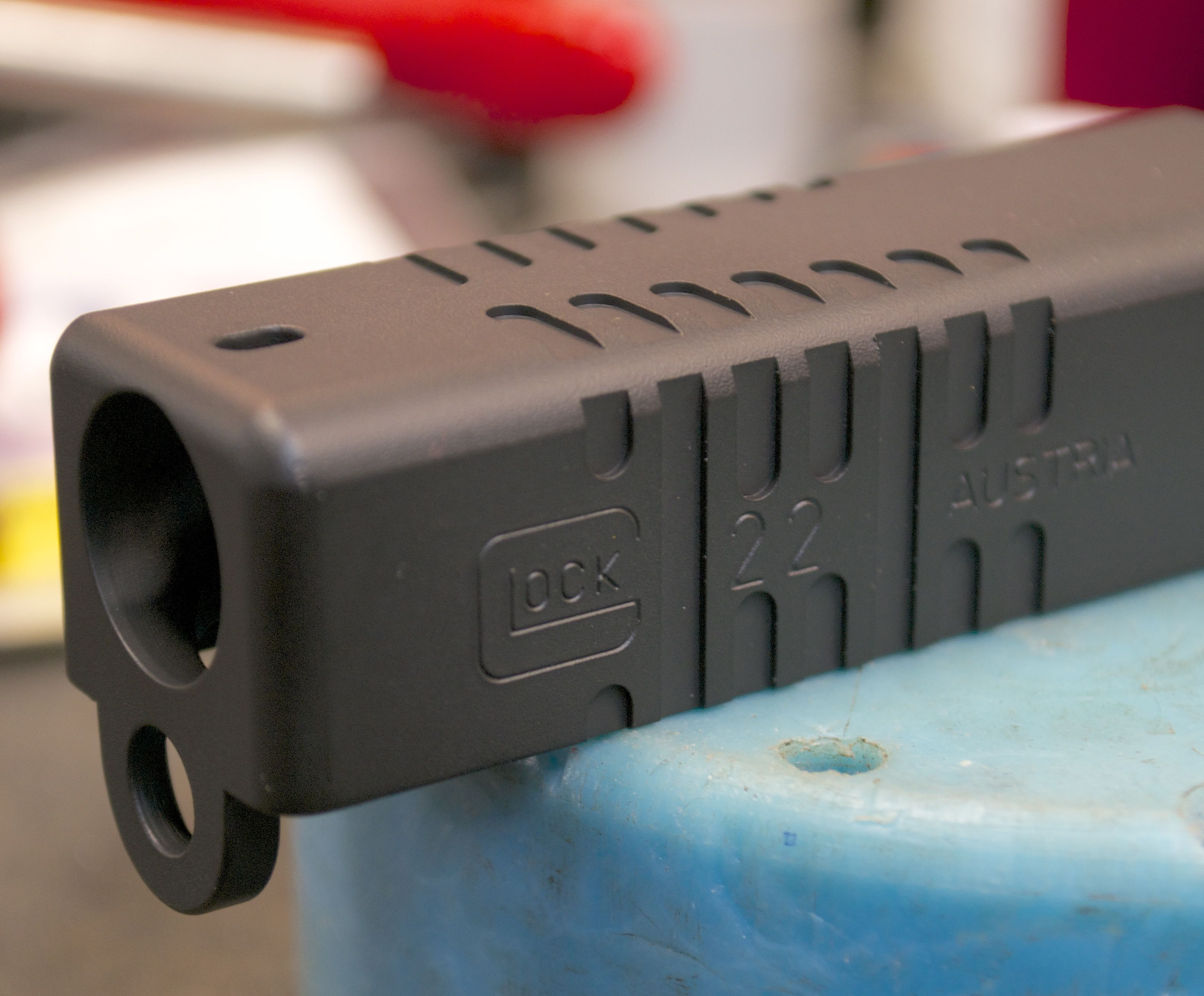 Machining front cocking serrations on a Glock slide – rifleshooter com
