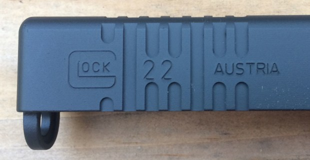 left side of glock 22 after cerakote