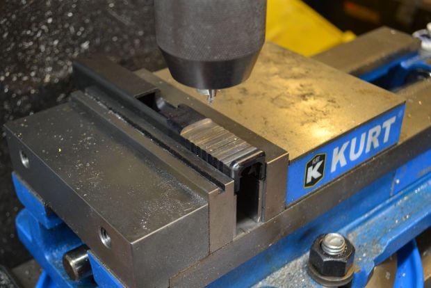 spotting screw holes for rmr on glock
