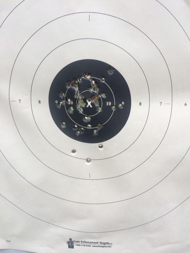 august 23 target glock 19
