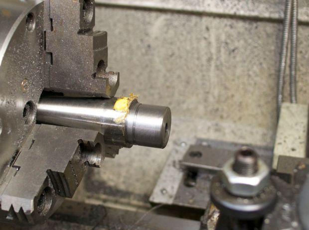 barrel tenon cut for model seven