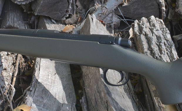 custom 700 hunting rifle left side bolt stop